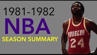 1981-1982 NBA Season Summary