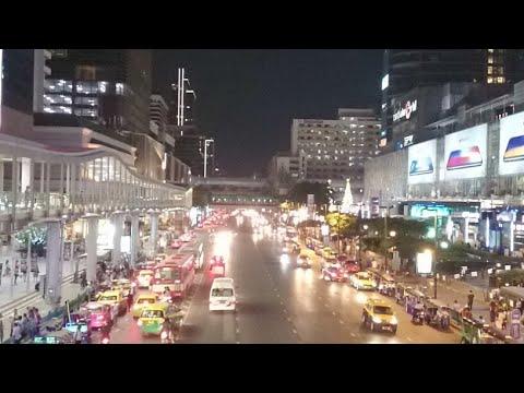 Ratchaprasong Sky Walk Nightlife, Bangkok