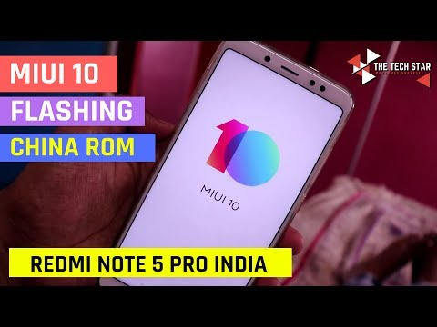 Miui 10 Flashing Tutorial on Redmi Note 5 Pro Leaked China Beta Rom | Hindi - हिंदी