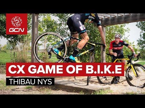 Cyclo-cross Game Of B.I.K.E With Thibau Nys | Who Has The Best CX Bike Handling Skills?