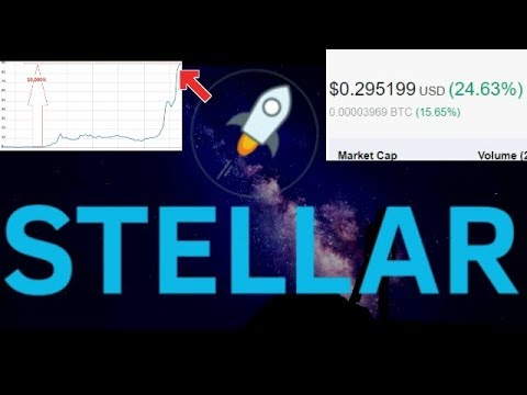 Signs Showing Stellar (XLM) Will Soon Be A Top 4 Cryptocurrency