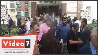 أسرة اللواء جمال حمّاد تشيع جثمانه من مسجد مصطفى محمود