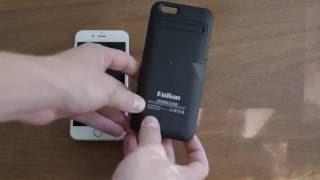 iPhone 6/6S External Battery Case Review - 3500mAh!