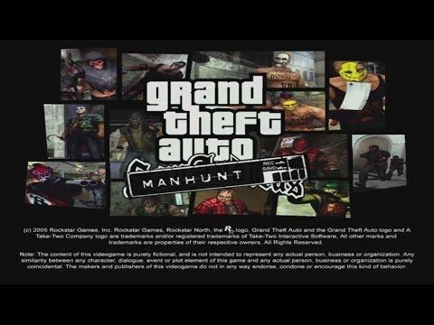 Grand Theft Auto: San Andreas Manhunt Mod Gameplay