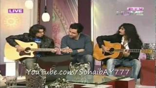 Roxen - Rozen-e-Dewaar unplugged(LIVE) on PTV