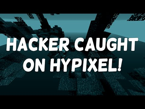 HACKER CAUGHT ON HYPIXEL! (FLYING & ANTI-KNOCKBACK) - Minecraft