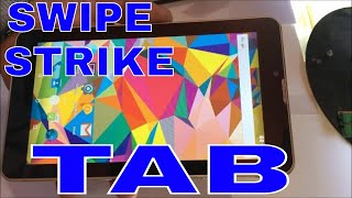Swipe Strike 4G Tab unboxing and reviews in hindi