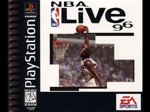 NBA Live 96 (PlayStation) -  Chicago Bulls Vs. Charlotte Hornets