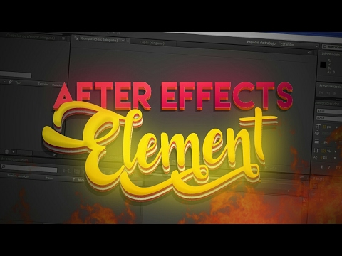 Element 3d after effects 2019