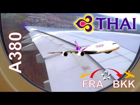 ✈︎-full-flight-✈︎-thai-airways-||-airbus-a380-||-fra-bkk---red-eye-flight