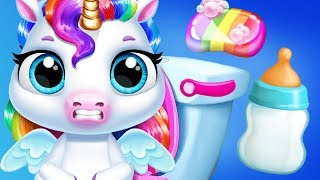 Fun Horse Care Games - My Baby Unicorn Pony Pet Care Makeover Dress Up Kids Games