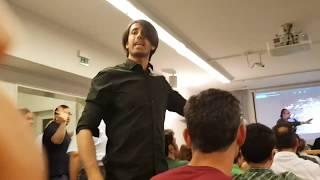 بار دیگر در مقابل عبدالکریم سروش و افشاگری در شهر کلن . المان 01.06.2018