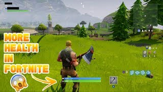 How to get more health in Fortnite