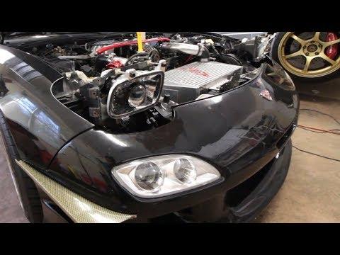 Retrofitting the FD RX-7 headlights! Part 1