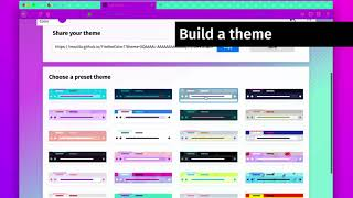 Color: a brand new extension by Firefox thumbnail