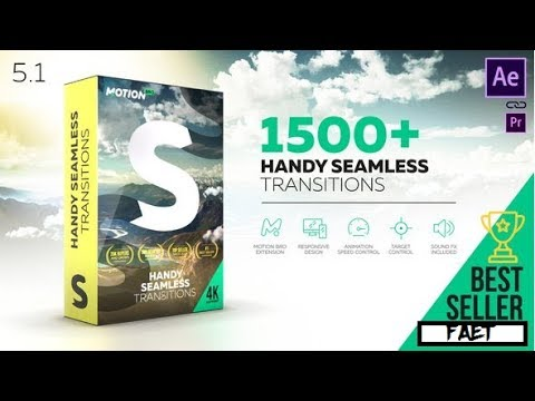 Videohive Handy Seamless Transitions Pack & Script V5 1 Cracked » free  after effects templates