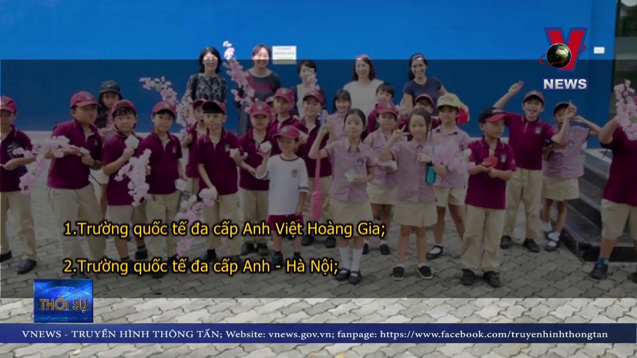 Công bố danh sách 11 trường quốc tế tại Hà Nội