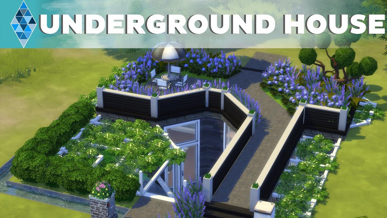 Houses Built Underground The Sims 4 House Building Multilevel Undergound House Youtube
