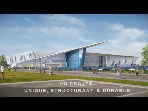 Projet du futur centre aquatique de Valenciennes