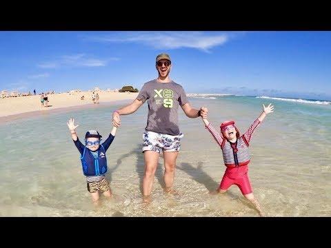 Följ familjen en dag på Kap Verde VLOGG