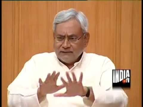 Bihar CM Nitish Kumar in Aap Ki Adalat (Part 2) - India TV