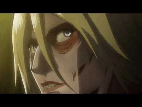 Attack on Titan ep 22 Levi's Badass scene