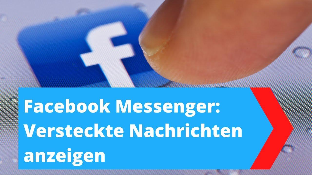 Facebook Messenger: Nachrichtenanfragen anzeigen, lesen