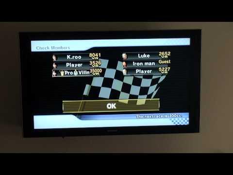 Mario Kart Wii Races #26 - Pro Karting + VR Hacking + SNESGV Item Rape