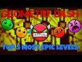 GEOMETRY DASH TOP 5 MOST EPIC LEVELS EVER 2.0