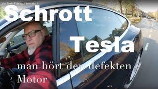 Vor Tesla Fehlkauf bewahrt !