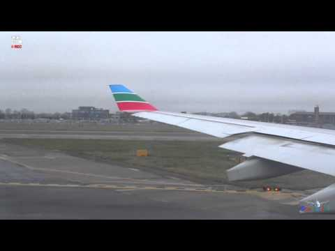MEA Middle East Airlines Airbus A330 London-Beirut Full Take Off Video HD
