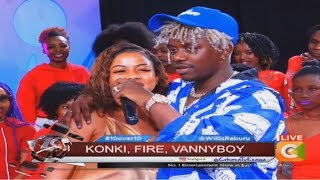 Exceptional Rayvanny introduces Lovely wife on 10 OVER 10