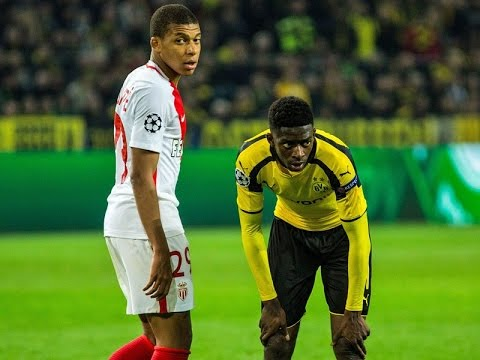 Kylian Mbappe vs. Ousmane Dembele - two amazing talents | HD