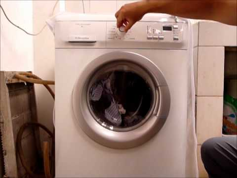 Mesin cuci Electrolux front loader  YouTube