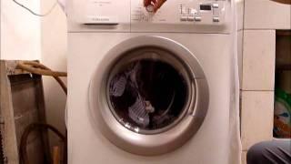 Mesin cuci Electrolux front loader