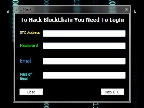 New BlockChain Hack 2017   Working 100%   YouTube