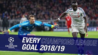 Every Liverpool Champions League goal on the road to Madrid 2019