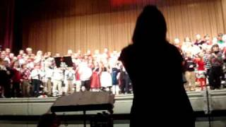 "East Rochester Elementary School (NH) - Grades 1-5 performing ""Rockin"