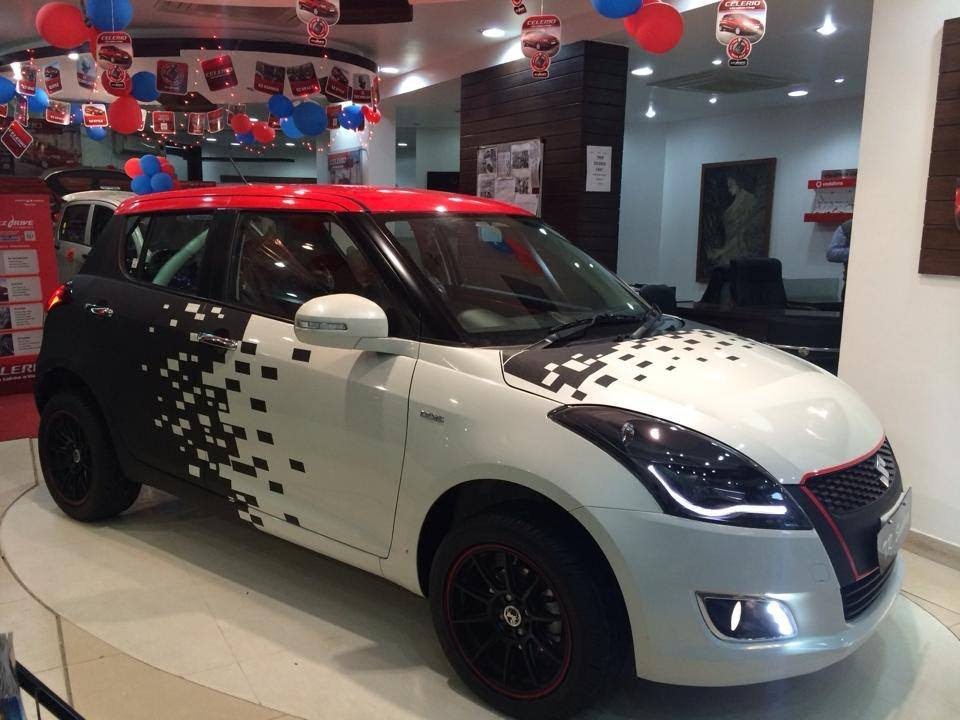 Maruti Swift Volt Edition Launched Showcased At Delhi Auto Expo