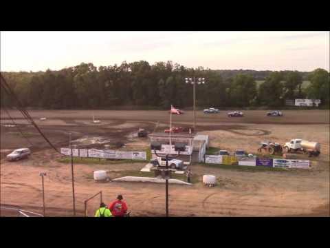 Butler Motor Speedway Street Stock Heat #2 8/5/17