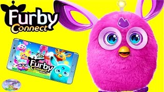 Furby Connect Hasbro Interactive Toy Furby Connect World App Surprise Egg and Toy Collector SETC