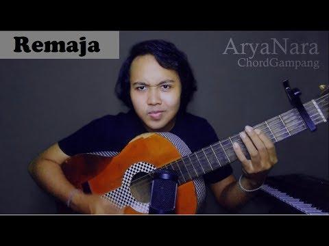 Chord Gampang (Remaja - HIVI) by Arya Nara (Tutorial)
