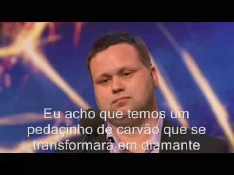 Paul Potts Britain's Got Talent Nessun Dorma Legendado Pt Br
