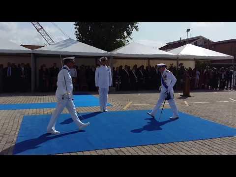 QL - Fiumicino, cambio di guardia al comando della Guardia Costiera di Roma