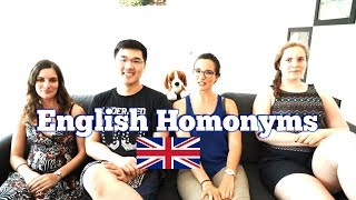 [Language] Foreign Language Challenge - English Homonyms (GB)