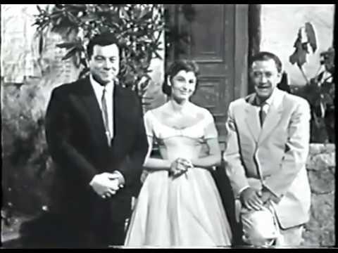 Mario Lanza - German television 1958