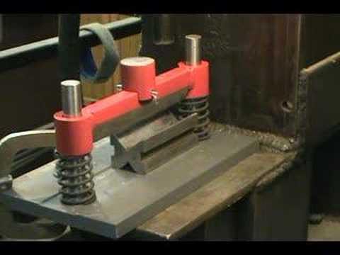 Homemade Bending Tool Sheet Metal Brake Funnydog Tv