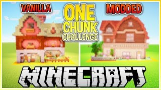 The One Chunk Minecraft Challenge!