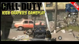 CALL OF DUTY MOBILE HIGH GRAPHICS GAMEPLAY