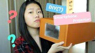 DIY(?) Smartphone Projector